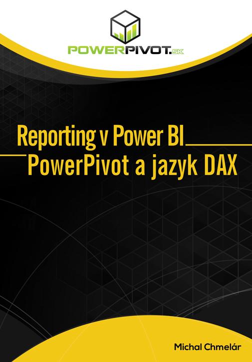 kniha Power BI, predná strana