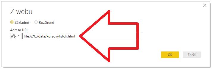 Ako načítať tabuľku z Wordu cez Power Query do Power BI